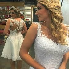 Custom Made Wedding Dresses Uk Discount Short Wedding Dresses Uk 2017 Short Vintage Wedding