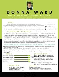 Media Resume Coach Donna U0027s Resume