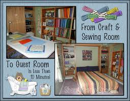 Craft Sewing Room - sher u0027s creative space from craft u0026 sewing room to guest room