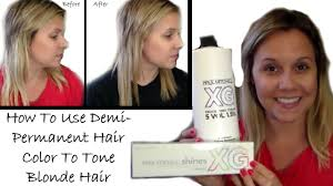 what demi permanent hair color is good for african american hair how to use demi permanent hair color to tone blonde hair hair