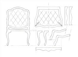 couch side view drawing sofa moran furniture multiview house art