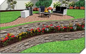 Landscaping Ideas For Sloped Backyard Landscape Design Software Overview