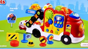 8 car vtech go go smart wheels launch u0026 go storage case cars