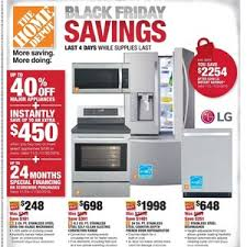 home depot refrigerators black friday sale home depot cyber monday 2017