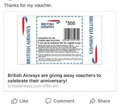 british airways black friday have you spotted the 500 vouchers for british airways flights on