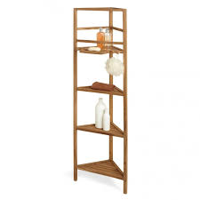 Corner Shelving Bathroom 59 Teak Corner Bathroom Shelf Bathroom