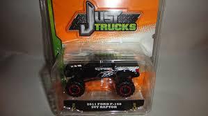 Raptor Ford Truck 2011 - amazon com jada just trucks 2013 wave 1 black 2011 ford f 150 svt