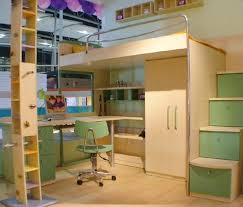 Loft Bed With Desk For Teenagers Kids Twin Bunk Bed With Desk Bedroom Beds Bunk Bed Ideas Of