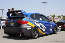 subaru tuner tuned subaru impreza wrx sti with ings body kit picture number
