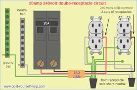 wiring a 220 outlet diagram crayonbox co