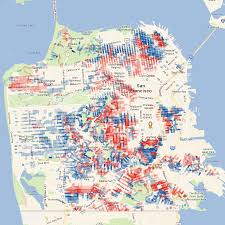 Tourist Map Of San Francisco by Hill Mapper San Francisco