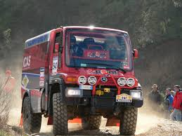 mercedes rally mercedes benz unimog u400 rally raid racing vehicles trucksplanet