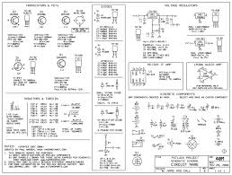 component basic circuit symbols electrical schematic photo