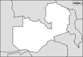 zambia free maps free blank maps free outline maps free base maps