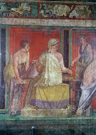 triclinium chambre scène d initiation aux mystères de dionysos