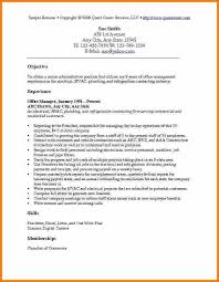 Office Manager Sample Resume Office Manager Description Sample Resume For Management Position