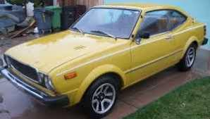 1976 toyota corolla sr5 for sale four wheels if you are lucky 1976 toyota corolla sr5 coupe