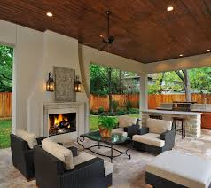 outdoor living room ideas outdoor living room kitchen with fireplace it s like a great room
