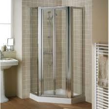 lakes pentagon shower enclosure including framed door lakes