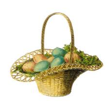 vintage easter baskets vintage easter basket clipart bbcpersian7 collections
