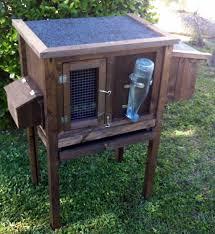 Come Costruire Una Casetta Per Conigli by Gabbia In Legno Per Coniglietti Nani Con Ruote