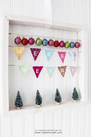 easy diy merry merry wood frame wreath make it and it