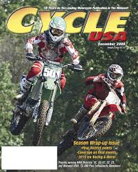 ama motocross membership cycle usa dec 2009 by cycle usa issuu