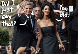 george clooney wedding george clooney accidentally revealed his wedding location and it