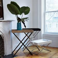 tall butler tray stand west elm au