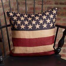 burlap americana home décor pillows ebay