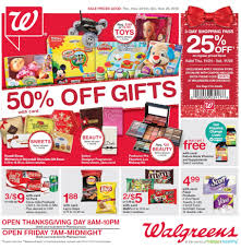 what time does walmart open on thanksgiving walgreens black friday 2017 ads deals and sales