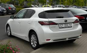 lexus hybrid ct lexus ct 200h 5 doors luxury hybrid hatchback u2013 world automobile
