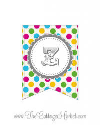 printable alphabet bunting banner free printable whole alphabet primary party polka dot banner