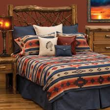 Cheap Queen Comforter Clearance Bedding Luxury Southwestern Bedding Wooded River Redrock Canyon