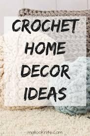 top 25 best crochet home decor ideas on pinterest crochet home