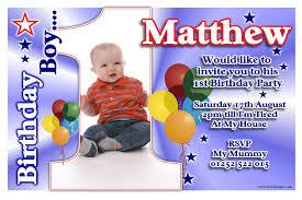 1st birthday party invitations boy tags 1st birthday party