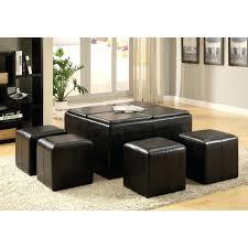 Walmart Storage Ottoman Storage Ottoman Coffee Table Leather Cube Ottoman Faux Leather
