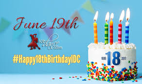 help us celebrate our birthday