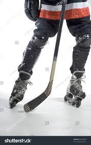 shot hockey players legs skates hockey stock photo 15073093