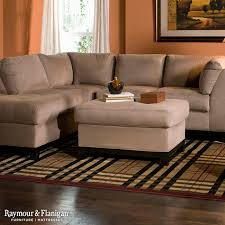Raymour And Flanigan Living Room by Magnificent Microfiber Sectional Sofa In Living Room Other Metro