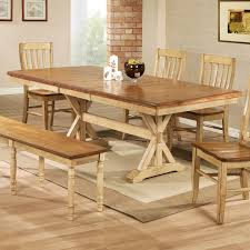 Dining Room Tables With Leaf Weston Home Ohana Dining Table With Leaf Hayneedle