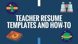 resume templates for teachers preschool teacher resume sample