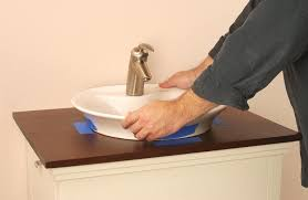 How To Install Bathroom Sink by How To Install A Bathroom Sink