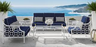 White Outdoor Furniture Barclay Butera Collection For Castelle Castelle Luxury Outdoor