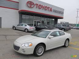 2005 chrysler sebring limited coupe in satin white pearl 037162