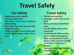 travel safety tips images Spring break tips jpg