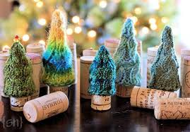 free knitted ornaments rainforest islands ferry