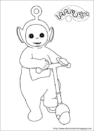 teletubbies coloring free download