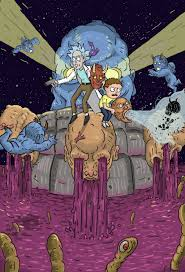rick and morty halloween background rick and morty contest semi finalists by madizzlee on deviantart