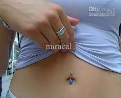 crystal belly rings images 2018 navel piercing spikes belly ring women body jewelry austrian jpg